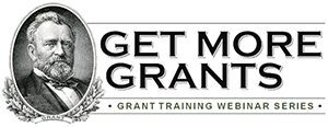 Get More Grants Webinar Series Logo