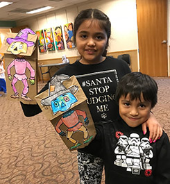 Puppet Show participants