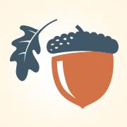 Corliss & Solomon Acorn Logo